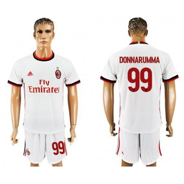 AC Milan #99 Donnarumma Away Soccer Club Jersey