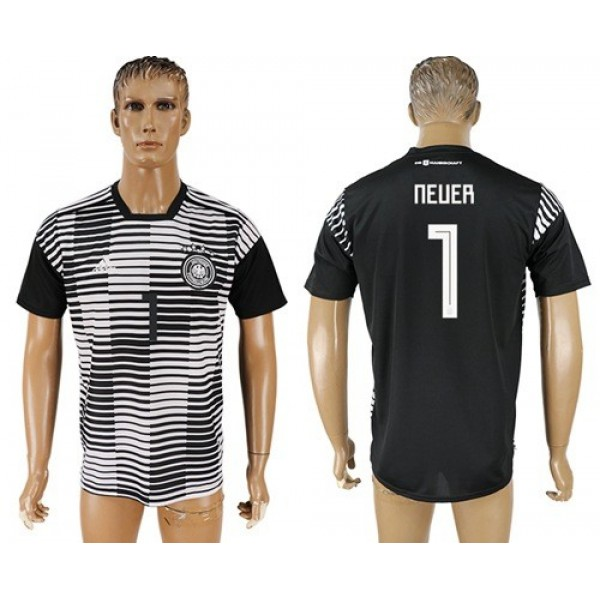Germany #1 Neuer Away Soccer Country Jersey