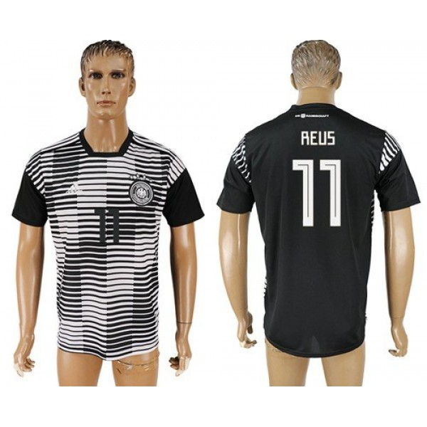 Germany #11 Reus Away Soccer Country Jersey