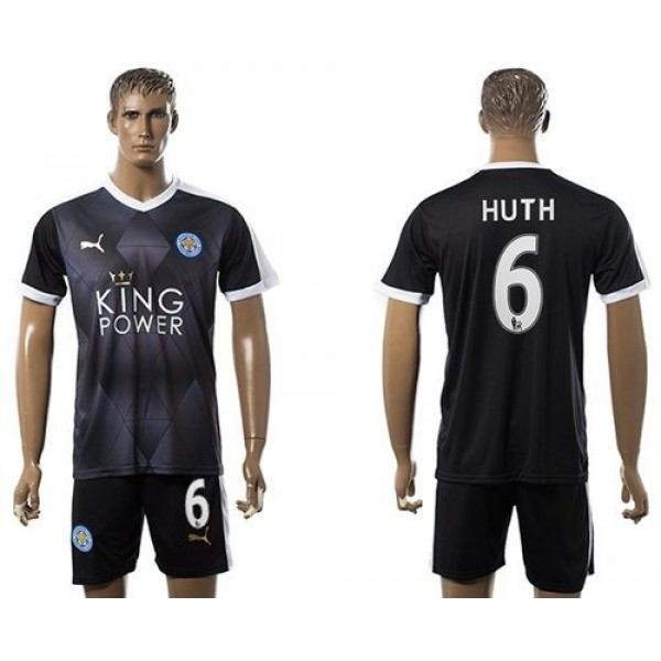 Leicester City #11 Albrighton Home Long Sleeves Soccer Club Jersey