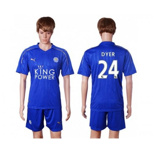 Leicester City #18 Amartey Home Long Sleeves Soccer Club Jersey