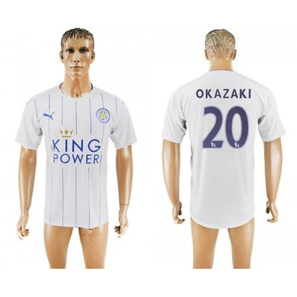 Leicester City #24 Mendy Home Long Sleeves Soccer Club Jersey