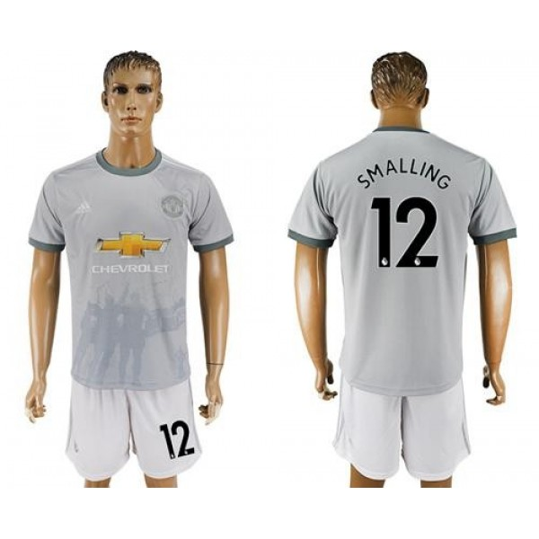 Manchester United #12 Smalling Sec Away Soccer Club Jersey