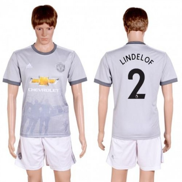 Manchester United #2 Lindelof Sec Away Soccer Club Jersey