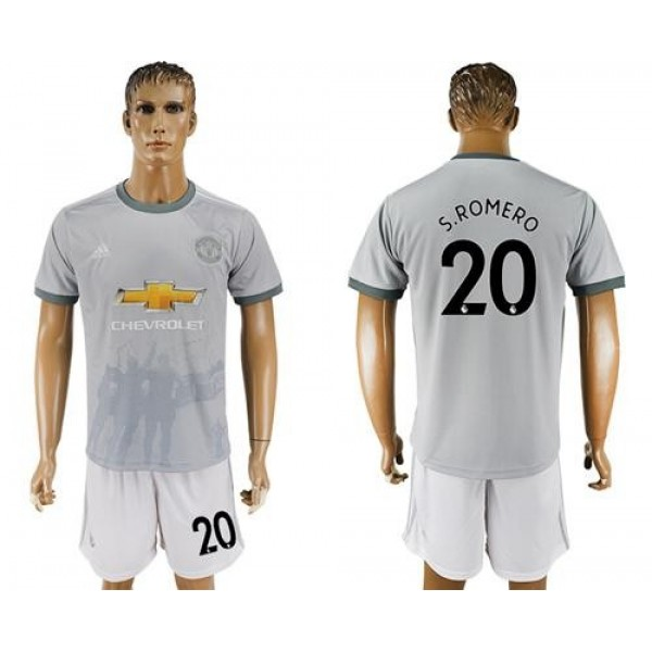 Manchester United #20 S.Romero Sec Away Soccer Club Jersey
