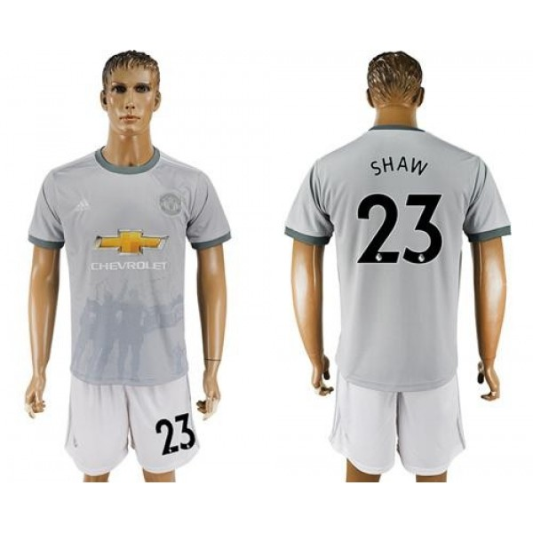 Manchester United #23 Shaw Sec Away Soccer Club Jersey