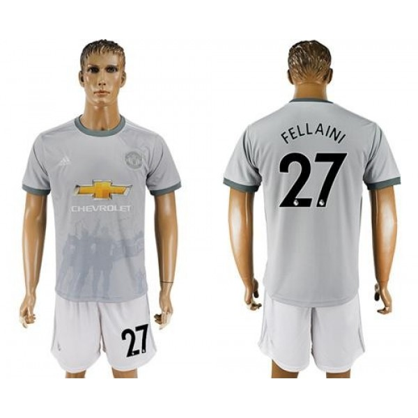 Manchester United #27 Fellaini Sec Away Soccer Club Jersey