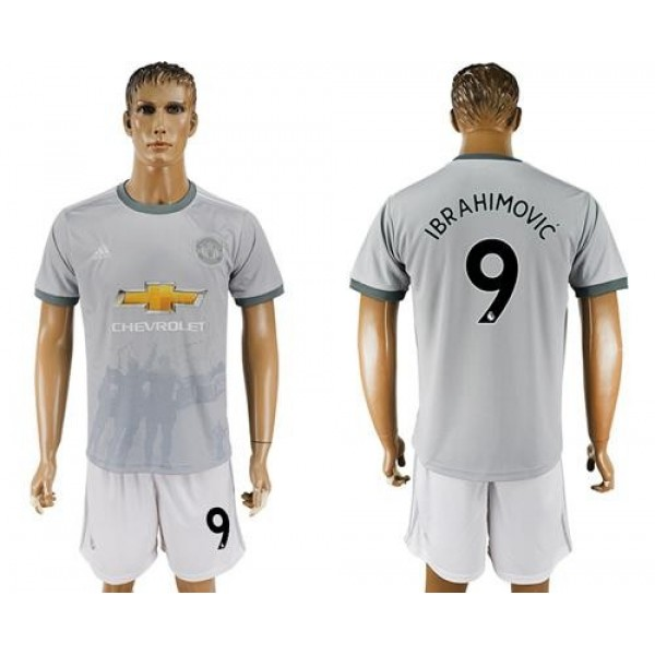 Manchester United #9 Ibrahimovic Sec Away Soccer Club Jersey