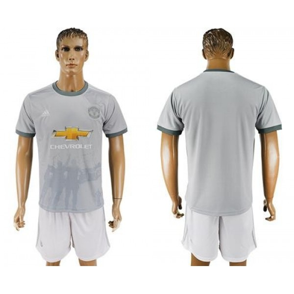 Manchester United Blank Sec Away Soccer Club Jersey