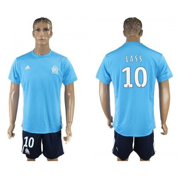 Marseille #10 Lass Away Soccer Club Jersey
