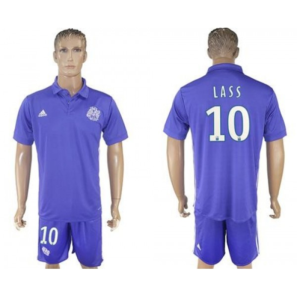 Marseille #10 Lass Sec Away Soccer Club Jersey