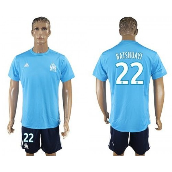 Marseille #22 Batshuayi Away Soccer Club Jersey