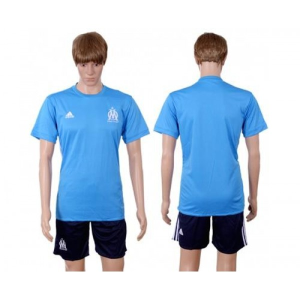 Marseille Blank Away Soccer Club Jersey