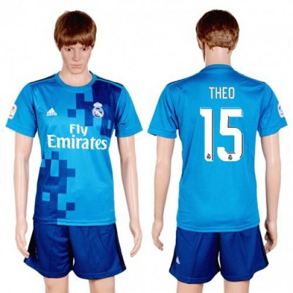 Real Madrid #15 Theo Sec Away Soccer Club Jersey
