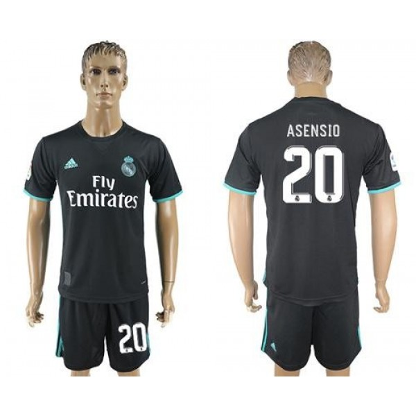 Real Madrid #20 Asensio Away Soccer Club Jersey