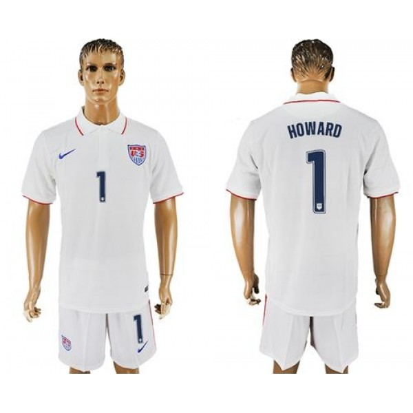 USA #1 Howard Home Soccer Country Jersey